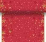 Šerpa z netkanej textílie 0,4x4,8m Shining Star red