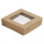 Víčko na krabičku Viking Ecoecho s okénkem, 113x113x29mm (300ks)