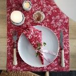 Luxusní ubrousky 40x40cm Firenze pink (12ks)