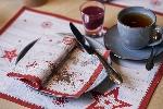 Raňajkové prestieranie z netkanej textílie 30x40cm Cozy Winter (500ks)
