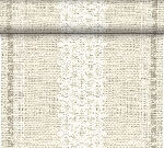 Šerpa z netkanej textílie 0,4x24m Linen Snow (4ks)