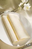 Hedvábné ubrousky Dunisoft 40x40cm vanilka (60ks) SUPER CENA
