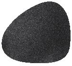 Prostírání kožené 37x44cm černé (4ks)