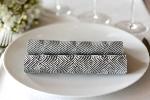Ubrousky Elegance Crystal 40x40cm šedé (40ks)