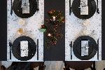 Šerpa z netkanej textílie 0,4x4,8m DIZAJN Vianoce (8 roliek)