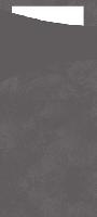Pouzdro na příbor šedé s bílým ubrouskem 8,5x19cm (500ks)