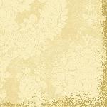 Servítky 40x40cm/4vrst. Royal cream (50ks)