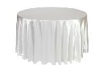 Obrus teflónový so zataveným okrajom na okrúhly stôl, priemer 160cm (10ks)