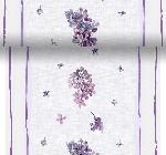 Šerpa z netkanej textílie 0,4x4,8m Sweet Butterfly lilac AKCIA