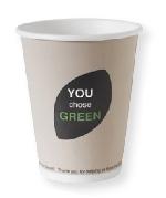 """Ekologický kelímek na horké nápoje """"You chose green"""", objem 240ml (800ks)"""