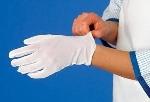 Rukavice úpletové biele (12 párov)