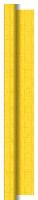 Banketový ubrus v roli Dunisilk + 1,20x25m Linnea žlutý - omyvatelný (2ks)