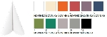 Luxusné obrúsky Duniliny 40x40cm (12x45ks) - farebné