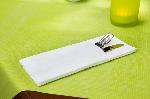 Duniletto - ubrouskový obal na příbor bílý (200ks) SUPER CENA