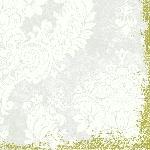 Servítky 40x40cm/4vrst. Royal white (50ks)