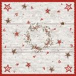 Ubrus z netkané textilie 84x84cm Cozy Winter