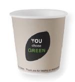"""Ekologický kelímok na horúce nápoje """"You chose green"""", objem 120ml (1620ks)"""