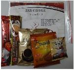 Balíček 5 druhů káv (černá, krémová, 3v1, classic, čokoláda)