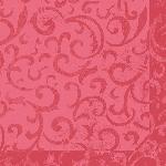 Luxusný obrúsok 40cm Dunilin Sarala korálovo ružová (1ks)