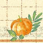 Ubrousky 33x33cm/3vrst. Pumpkin Spice (500ks)