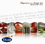 """Knížka """"Inspirace pro každý den"""" + 12 bílých ubrousků Dunilin"""