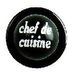 Knoflík na rondon, Chef de Cusine  (12 ks)