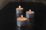 Čajová sviečka, priemer 3,9cm, horí 8 hodín (200ks)