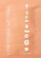 Vlhčené ubrousky - kompostovatelné (1000ks)
