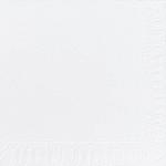 Servítky 33cm/2vrst. biele (125ks)