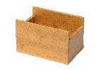 Zásobník na ubrousky bambusový, 18x12cm (2ks)
