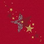 Luxusné obrúsky 40cm Duniliny Walk of fame red (50ks)