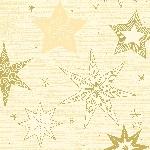Ubrousky 33x33cm/3vrst. Star Stories cream (500ks)