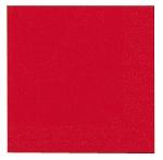 Ubrousky 33cm/2vrst. červené (125ks)