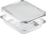 Aluminiové krabičky s alum. viečkom 32,2x26,2x4,2cm, objem 2690ml (100ks) AKCIA