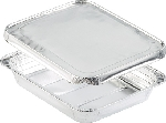 Aluminiové krabičky s alum. víčkem 32,2x26,2x4,2cm, objem 2690ml (100ks)