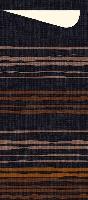 Pouzdro na příbor Brooklyn black s vanilkovým ubrouskem 8,5x19cm (500ks) - KOPIA