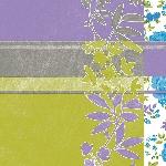 Servítky 33x33cm/3vrst. Flowery Stripe (250ks) AKCIA