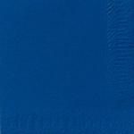 Ubrousky 33cm/2vrst. tmavě modré (125ks)