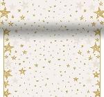 Šerpa z netkanej textílie 0,4x4,8m Shining Star cream AKCIA