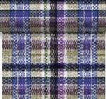 Šerpa z netkané textilie 0,4x4,8m Purple check