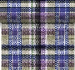 Šerpa z netkané textilie 0,4x4,8m Purple check AKCE