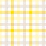 Servítka 33cm/3vrst. Check yellow (1ks)