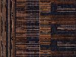 Snídaňové prostírání z netkané textilie 30x40cm Brooklyn black (5x100ks)