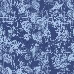 Ubrousky 33x33cm/3vrst. Firenze blue (20ks)