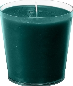 Náhradní náplň do svícnu černo-šedá (1ks)