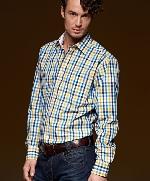 Pánska košeľa JAMES s dlhým rukávom