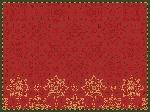 Raňajkové prestieranie z netkanej textílie 30x40cm Xmas Deco red (500ks)