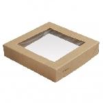 Víčko na krabičku Viking Ecoecho s okénkem, 140x140x29mm (300ks)