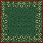 Obrus z netkanej textílie 84x84cm Xmas Deco green (100ks)