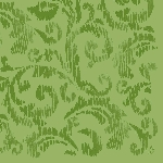 Luxusné obrúsky 40x40cm Saphira herbal green (50ks)
